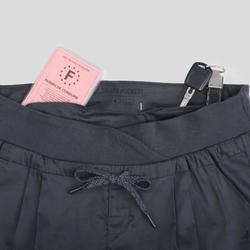 女款健行長褲NH500 Slim