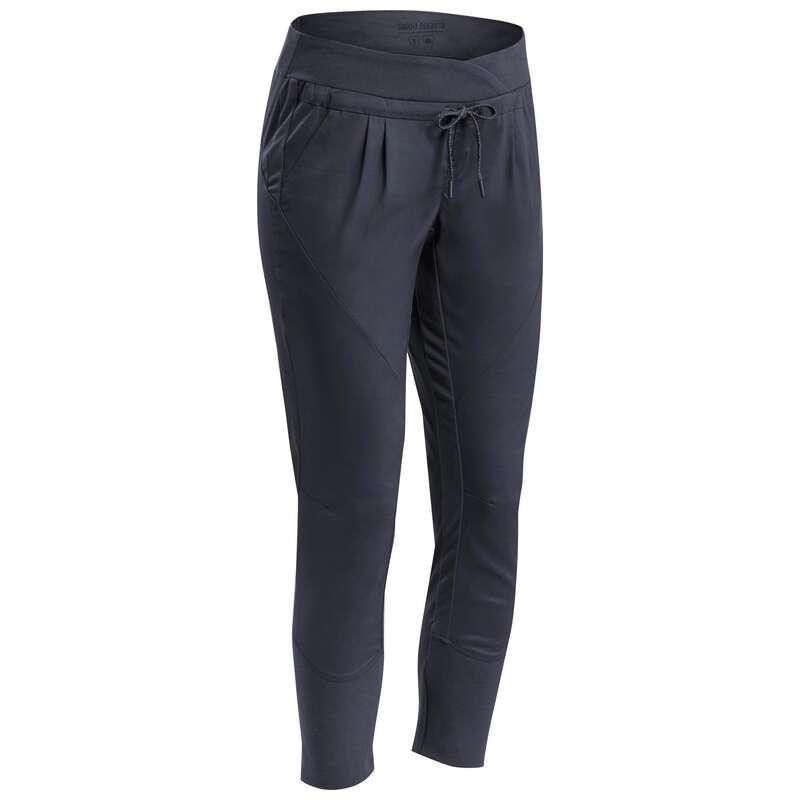 WOMEN NATURE HIKING PANTS Hiking - Trousers NH500 Slim - Grey QUECHUA - Hiking Clothes