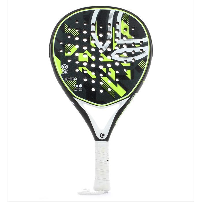 Padel racket R990 zwart/geel