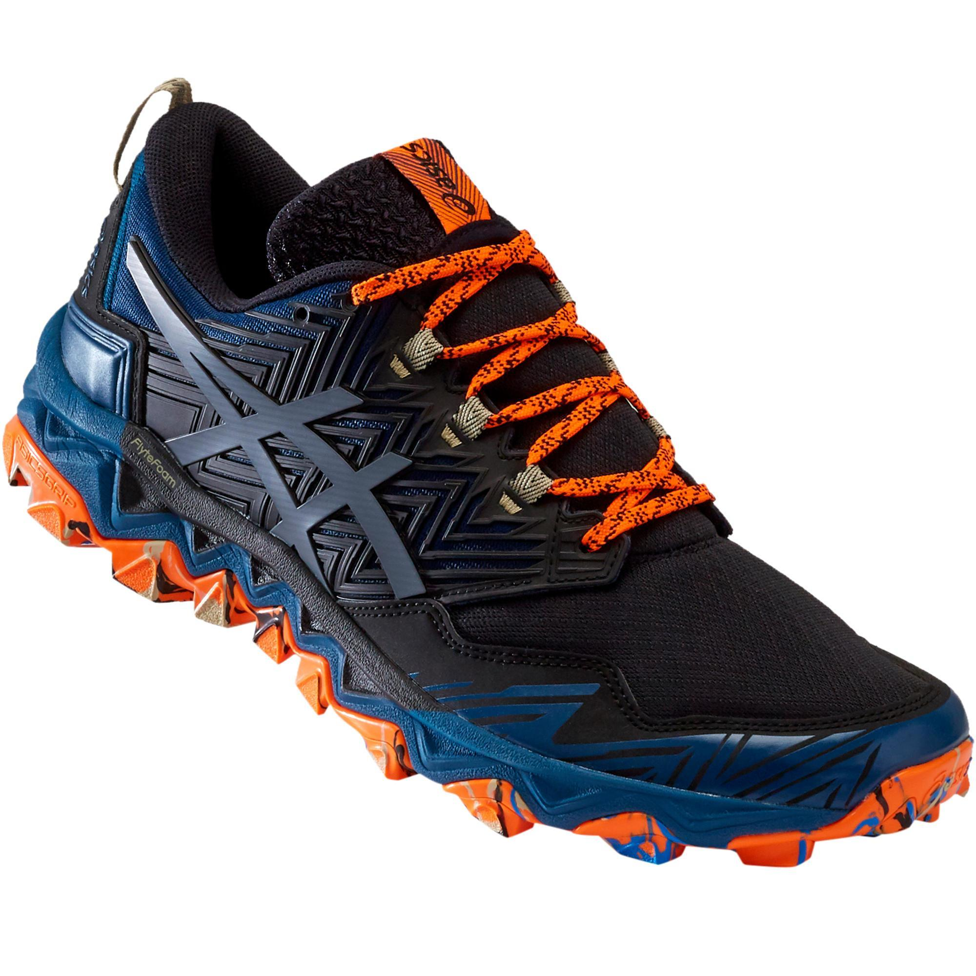 chaussure running trail homme asics