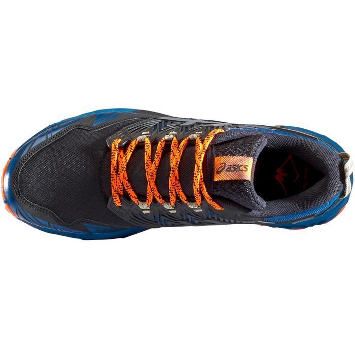 Laufschuhe Trail Gel Fujitrabuco 8 Herren blau/orange