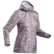 Women's Hiking Waterproof Jacket Raincut Zip