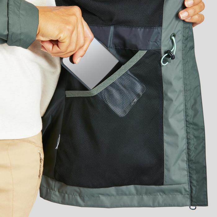 Veste imperméable de randonnée nature - NH500 Imper - Femme