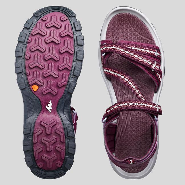 Women's Sandals NH110 - Burgundy
