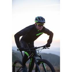 Fahrradjacke XC MTB schwarz/gelb