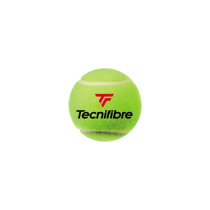 Tennisballen voor competitie X One set 4 stuks geel