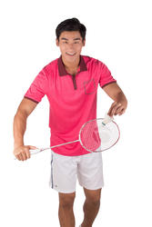 Sportshirt racketsporten Soft Pocket heren - 173546