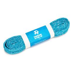 Veters 'Laces for change' van gerecycled plastic 110 cm blauw/wit