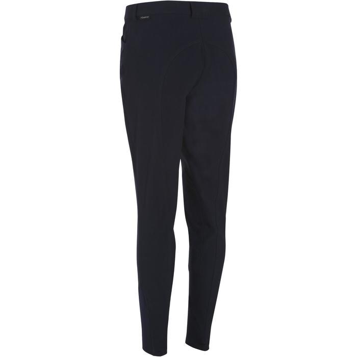 Pantalon équitation femme BR500 basanes marine - 173551