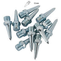SET OF 12 15MM HEX SPIKES FOR ATHLETICS SHOES