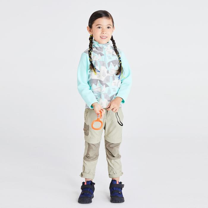 CHILDREN'S age 2-6 years CN HIKING FLEECE MH 100 GREEN