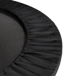 Trampolín cama elástica Cardio Fitness Domyos Trampo 100 80 cm hasta 80 kg negro