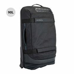 Sporttas op wieltjes Intensif 90 liter zwart
