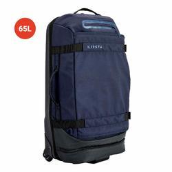 Sporttas op wieltjes Intensif 65 liter nachtblauw
