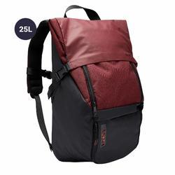 Laptop rugzak Intensif 25 liter bordeaux/zwart