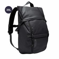 25 L團體運動背包Intensive-黑色和卡其配色