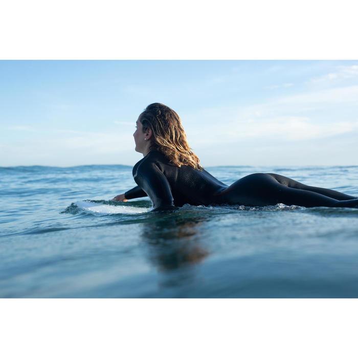 COMBINAISON NEOPRENE DE SURF FEMME 4/3 MM FERMETURE ZIP BORGNE OLAIAN