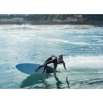 WOMEN'S NEOPRENE SURFING WETSUIT OLAIAN 4/3 MM FRONT ZIP