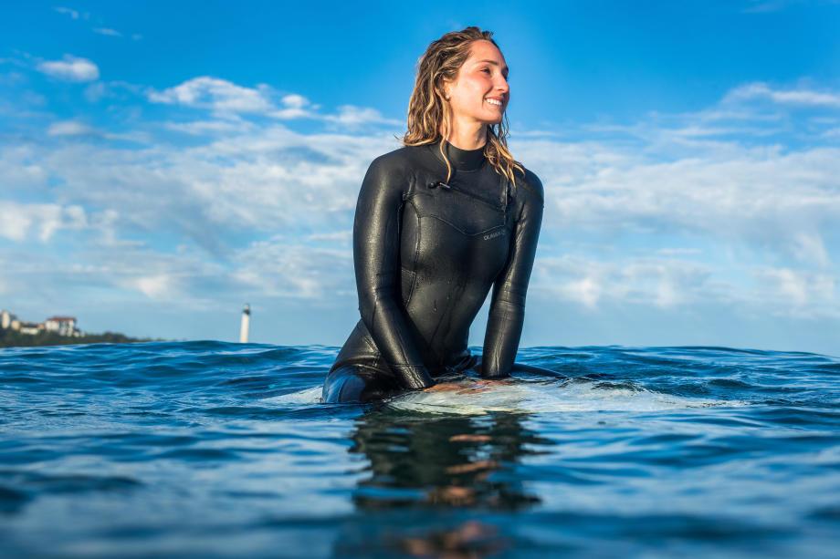 combinaison de surf femme 4-3mm hiver olaian