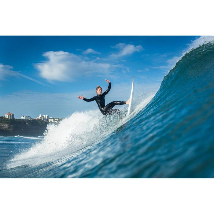 Wetsuit voor surfen dames neopreen 4/3 mm borstrits