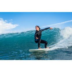 TRAJE NEOPRENO SURF MUJER 900 4/3MM CON CREMALLERA FRONTZIP