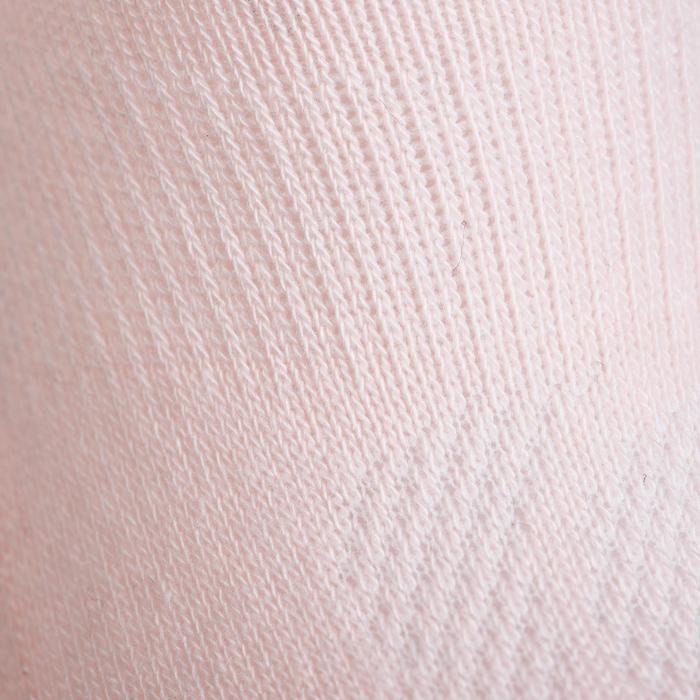 CHAUSSETTES TENNIS ENFANT HAUTES ARTENGO RS 160 ROSE BLANC MARINE LOT DE 6