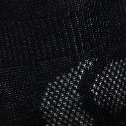 CHAUSSETTES TENNIS HAUTES ARTENGO RS 160 NOIR GRIS BLANC LOT DE 6