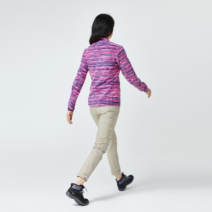 Women's Mountain Walking Fleece MH120 - Blue