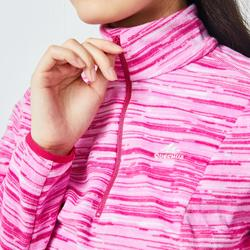 Women's Mountain Walking Fleece MH120 - Pink