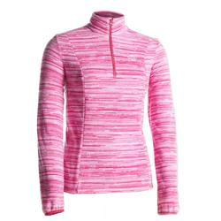 Women's Mountain Walking Fleece MH120 - Pink