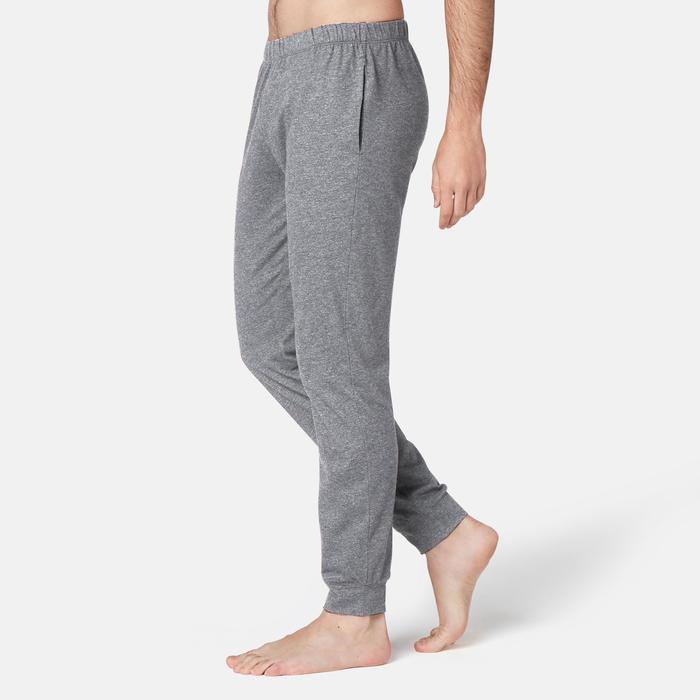 Pantalon 120 regular Pilates Gym douce homme gris