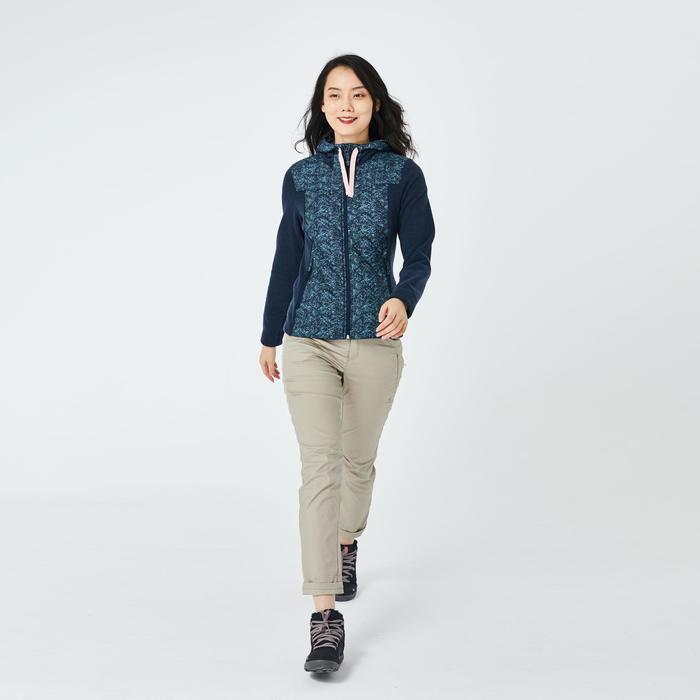 女款健行運動衫NH500