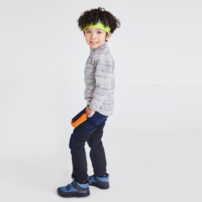 Kids' 2-6 Years CN Hiking Fleece MH100 - Grey