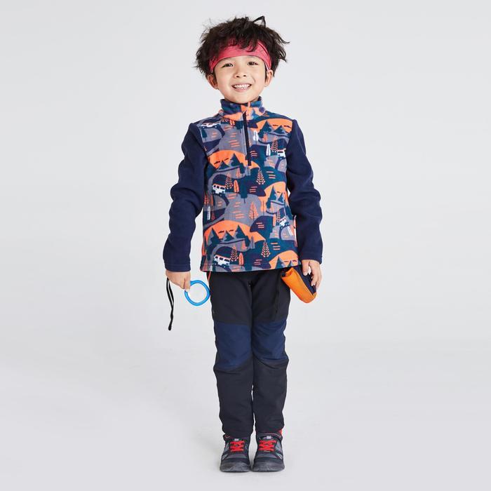 Kids' 2-6 Years CN Hiking Fleece MH100 - Navy Print
