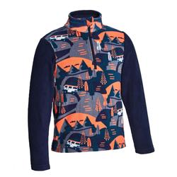 Kids' 2-6 Years CN Hiking Fleece MH100 - Navy Print