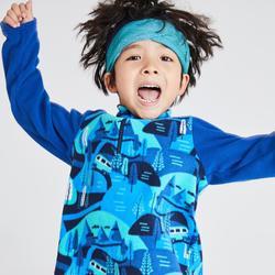Kids' 2-6 Years CN Hiking Fleece MH100 - Blue Print