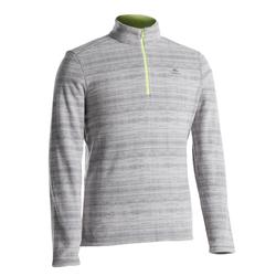 Men's Mountain Walking Fleece MH100 - Grey