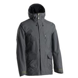 Men's Country Walking Waterproof Jacket NH500 Protect - Grey