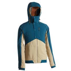 男款混合健行運動衫NH500-藍色