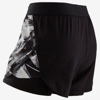 Short 2-en-1 GYM W500 - Filles
