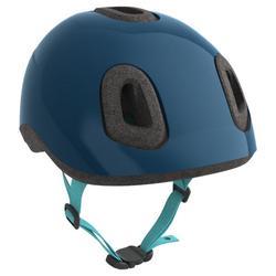 Casco bici bebè 500 azzurro