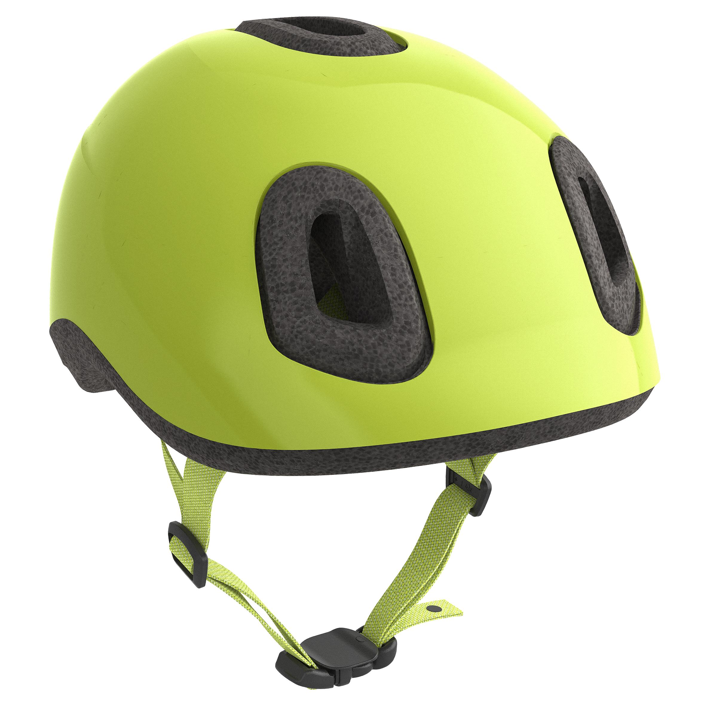 Cască Ciclism 500 Fluorescent