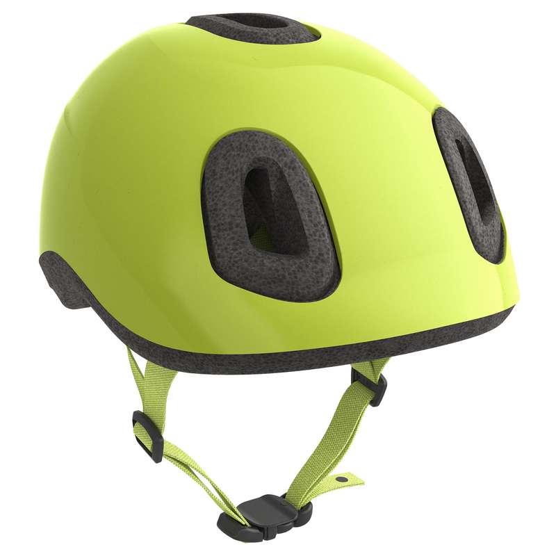 KIDS BIKE HELMETS Cycling - 500 Baby Cycling Helmet - Neon B'TWIN - Bike Helmets