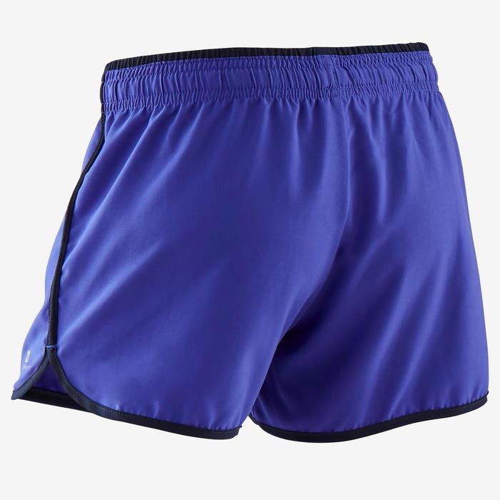 Short respirant W500 fille GYM ENFANT violet uni