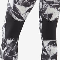 S500 Breathable Synthetic Fitness Leggings - Girls