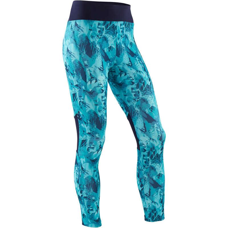 GIRL EDUCATIONAL GYM APPAREL - S500 Girls' Gym Leggings Blue