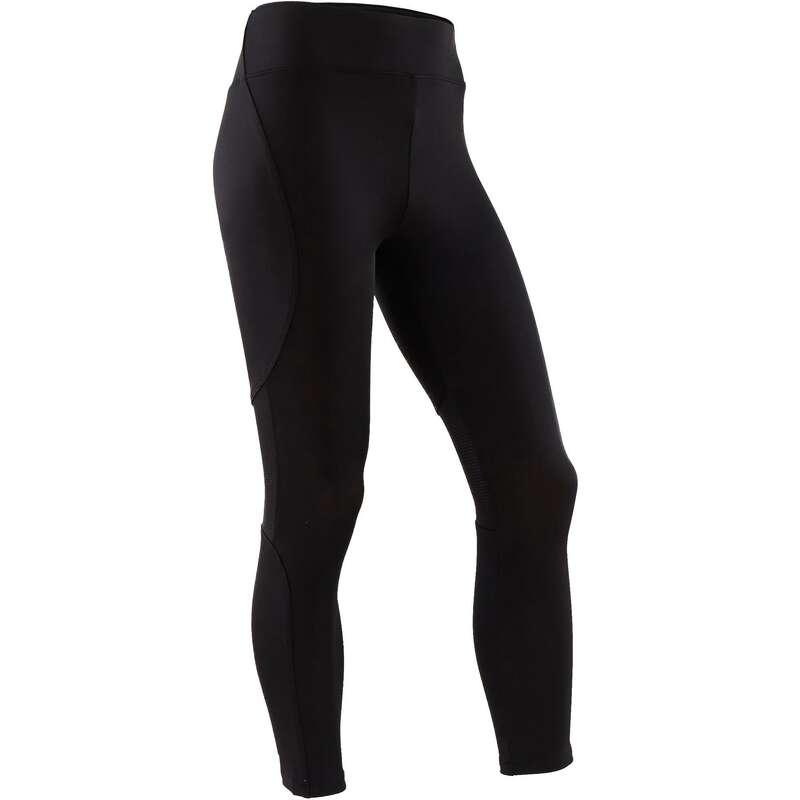 GIRL EDUCATIONAL GYM APPAREL Fitness and Gym - S500 Girls' Gym Leggings Black DOMYOS - Gym Activewear