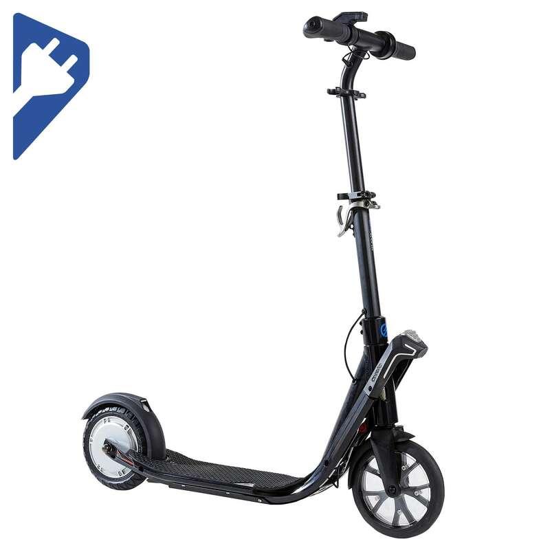 Elektro-Scooter Erwachsene City-Roller und Scooter - E-Scooter Klick 500 OXELO - City Roller