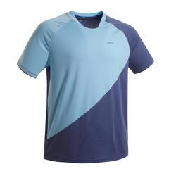 男款輕量T恤530天藍色