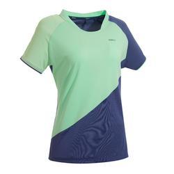 女款T恤530 - 灰綠配色